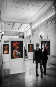A glimpse of the Paris exhibition